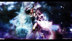 Final Fantasy XIII-2 Lightning by Kskeys