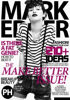 Mark Edver Magazine Cover - 12 by MarkEdverPH