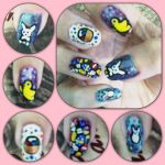 Easter Manicure right by MikariStar