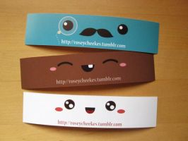SMH Bookmarks by orangecircle