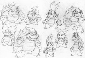 King and Koopalings by EnterPraiz