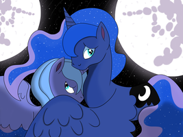 Lunar Shadows by Witojeruhi-Sieve