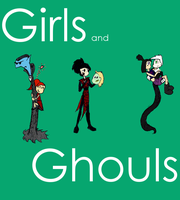 Girls and their Ghouls by Mr-M7
