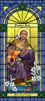 Saint Francis of Assisi by artmovementspgh