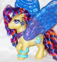 Egyptian Custom My Little Pony by mayanbutterfly