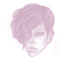 face sketch by AnastaSilly