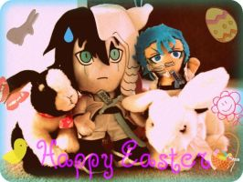 Happy Easter Plushie Photo by RetroNinja