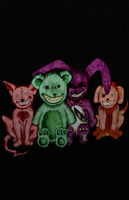 Demented Toys by CoreWinterly