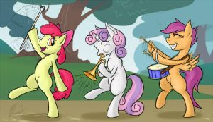 CMC Marching Band by bingodingo