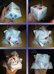 Origami Rose Cube with Cutie Marks by M99moron