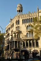Barcelona building 1 by wildplaces