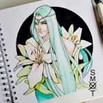 White Lily by Smoxt
