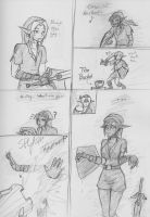 A Link a Dink and The Bucket by oobidoobi