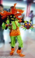 Skull Kid Cosplay by leziith