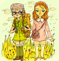 moonrise kingdom by Mebuu