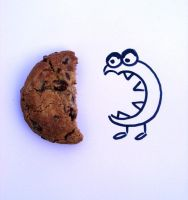 Cookie monster by Aaiss