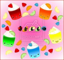 Jell0 Cups by nashiil by the-pixel-bakery