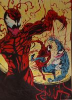 Maximum Carnage 3-11 by AndyManChan