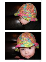 baby hat by Brookette