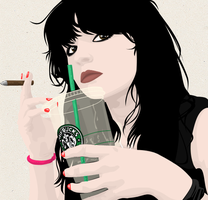 Starbucks. by Chrissi-Rockz