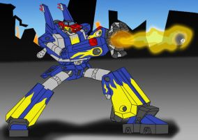 Fire ball 8 by Megas-XLR-Club