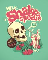 Milk Shakespeare by dracoimagem-com