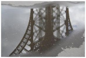 Eiffel Tower in a puddle by UrbanShots