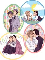 request-Holmes and Watson by Gandalfia