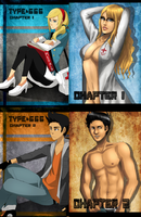 Chapter covers v2 by Dirkajek144