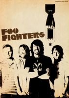 Band Poster: Foo Fighters by elcrazy