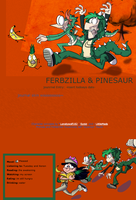 FERBZILLA and PHINESAUR journal skin by Gli7cH3dW0LF