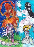 at elements_PB marcy FP and fionna by NENEBUBBLEELOVER