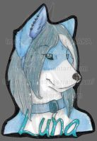 Bust Badge: Lunarnight 2015 by AirRaiser