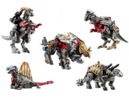 GRIMSTONE AND HIS DINOBOTS by jetfire333