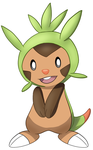 Chespin Sticker :) by InuYashaxLover