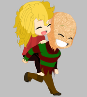 Piggy Back Ride by I-Major-In-Magick