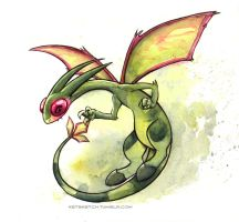 Flygon by kenket