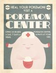 Pokemon Center Poster by Chuz0r