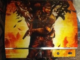 MGS3 PS3 Skin by snakedizzle