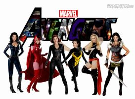 The Avengers - Lady Avengers by DeviantArtist2006