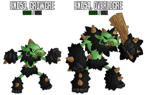 Fakemon: EX053 - EX054 by MTC-Studio