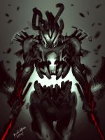 Shadow Knight by benedickbana