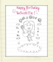 GothicKitta B-Day Gift by AnimeQueen4Life