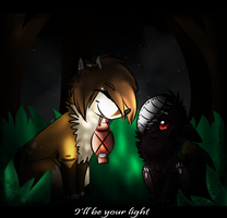.:Collab:. I'll Be Your Light by Rising-At-Midnight