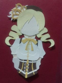 Papercraft - Mami Tomoe by GlompMonster