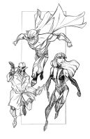 WATCHMEN Drafthouse Line art by Hodges-Art