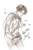 Shingeki no Kyojin - Happy birthday Delusor! by Lehanan