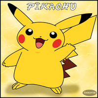 Pikachu by Fishlover