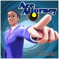 Phoenix Wright 3D - Ace Attorney by MickyFirebird