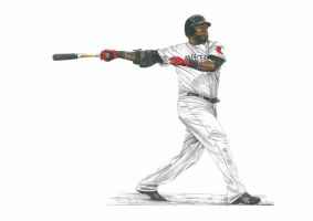 David Ortiz 34 by przemus